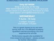 Southfields Junior Free Tennis Tasters (3)